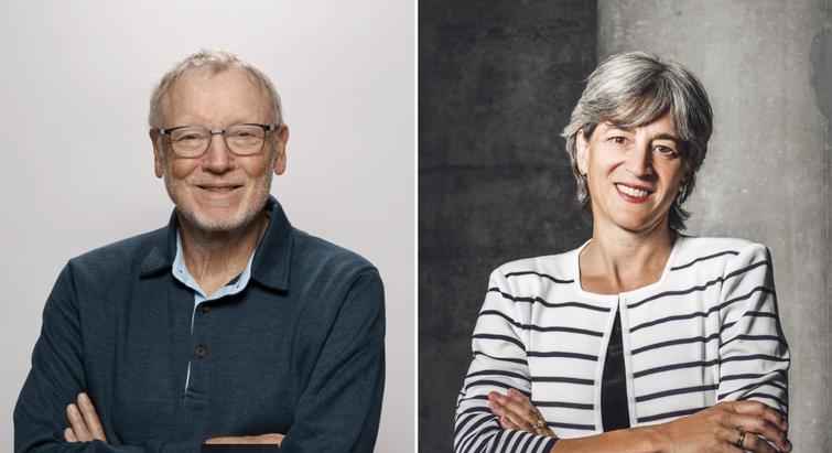 Jens Juul Holst og Juleen Zierath